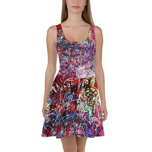 Luis Trapaga's urban graffiti Dress