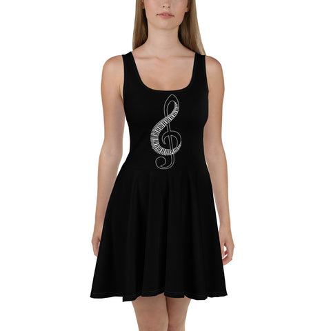 music lover black Dress