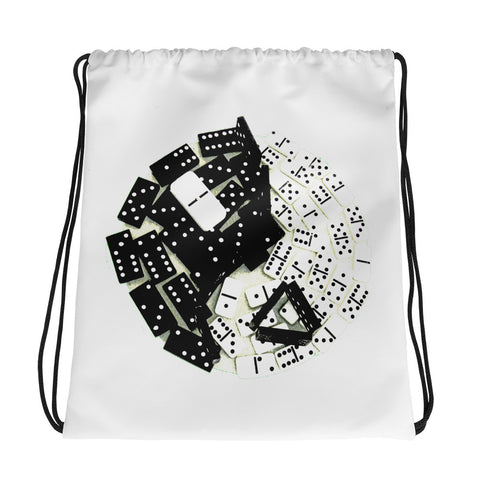 tao domino Drawstring bag