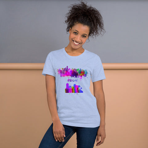 miami short-sleeve unisex t-shirt