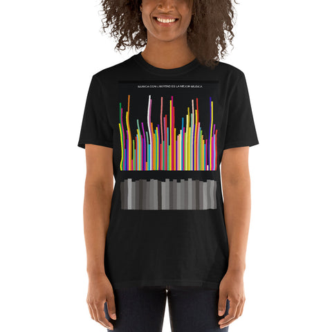 Música con libertad Short-Sleeve Unisex T-Shirt (limited edition)