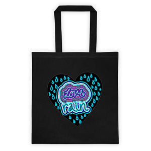 love rain Tote bag