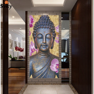 Printed Buddha Painting for home wall art decoration