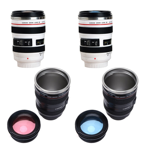 Travel Camera Lens Coffee Mug