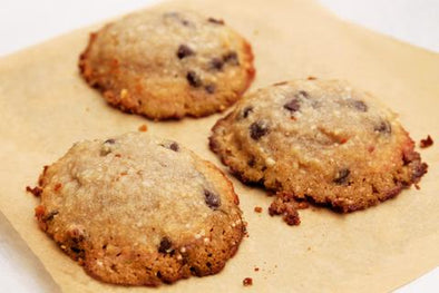 Macadamia Nut Chocolate Chip Cookies from The Paleo Kitchen