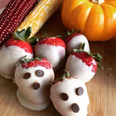 "Spooky Strawberry ""Ghosts"""