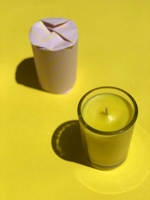 Citri Cookbook Zine + Citronella Candle