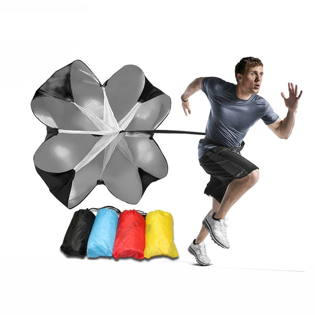 Speed Training Drills Resistance Parachute  Running Drag Sprint Chute Soccer Football Sport Speed Training Gym Equipment