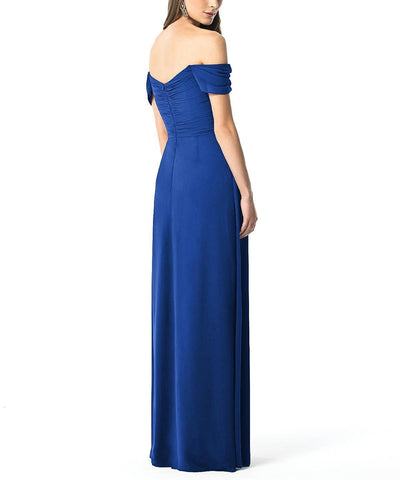 Dessy Collection Style 2844 in Sapphire