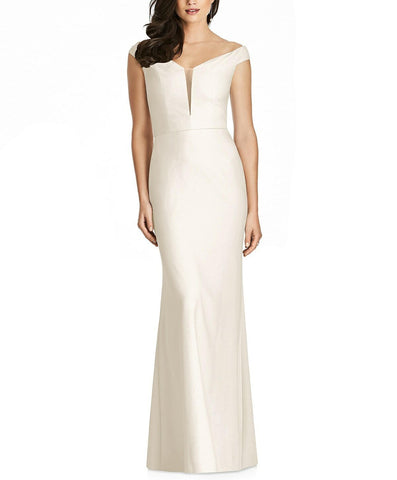 Dessy Collection Style 3016 in Ivory - Front