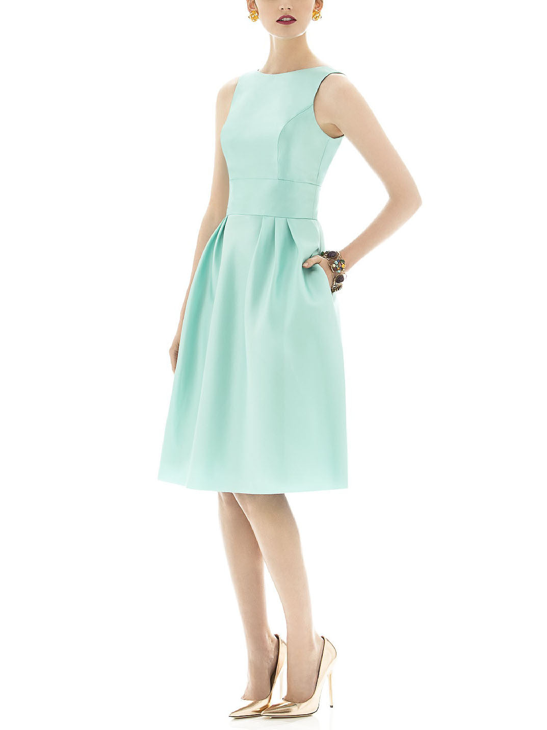 Alfred Sung Style D660 Bridesmaid Dress | Brideside