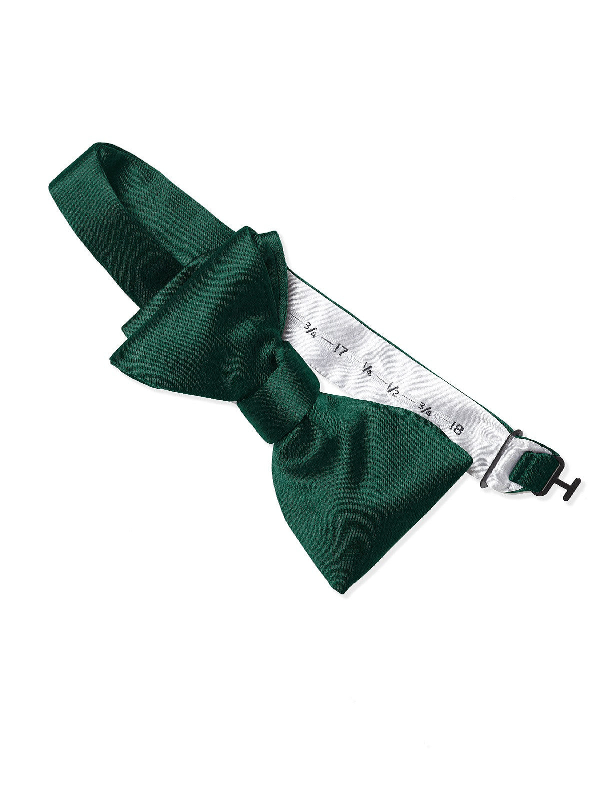 Dessy Hunter Matte Satin Bow Tie