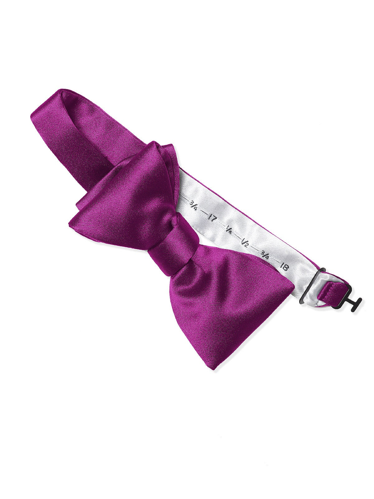 Dessy Persian Plum Matte Satin Bow Tie