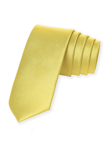 Dessy Sunflower Matte Satin Necktie