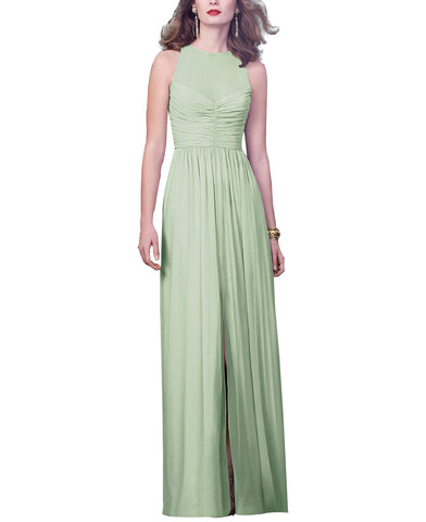 Dessy Collection Style 2920 in Celadon - Front