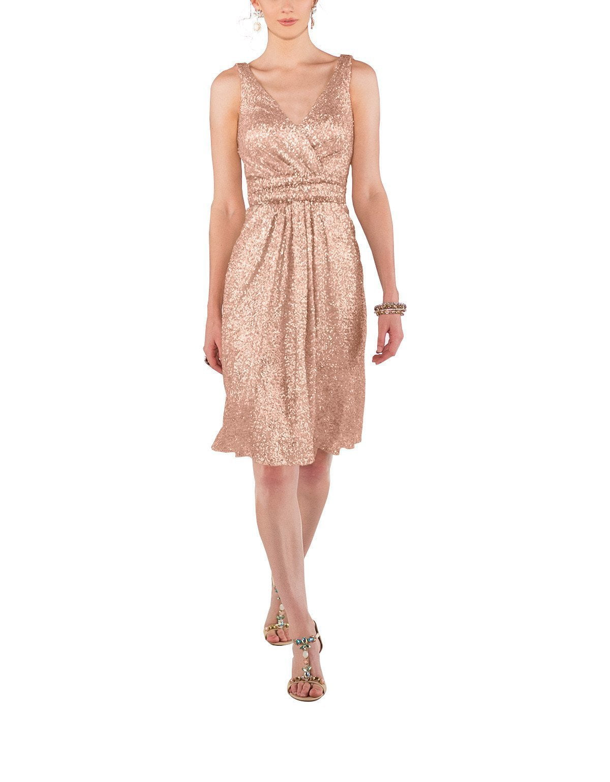 Sorella Vita Style 8685 in Rose Gold Sequin