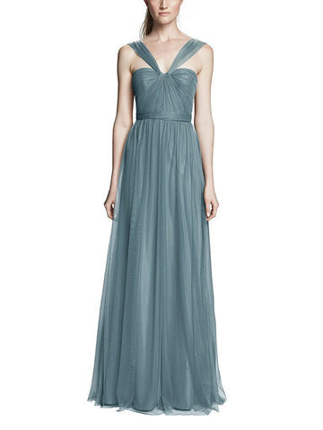 Amsale Aisha Bridesmaid Dress in Twilight
