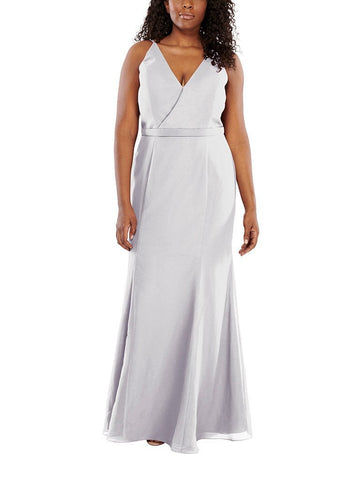 Aura Aria Bridesmaid Dress in Frost - Front