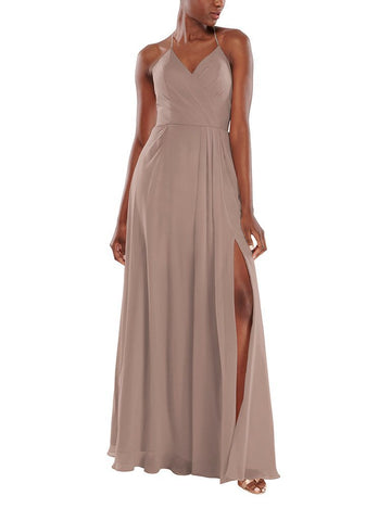 Aura Astrid Bridesmaid Dress in Marble - Front