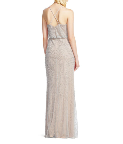 3530a27f Adrianna Papell Beaded Blouson Gown Bridesmaid Dress | Brideside
