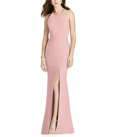 After Six Style 6776 in Rose Pantone Rose Quartz - Front