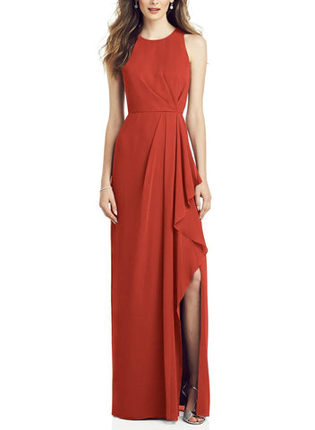 After Six Bridesmaid Dress Style 6818 in Amber Sunset - Front