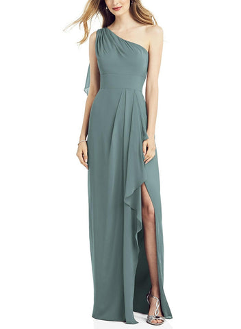 After Six Bridesmaid Dress Style 6819 in Icelandic - Front