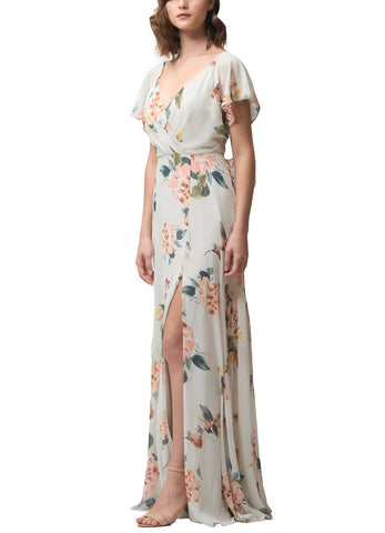 Jenny Yoo Alanna Print Bridesmaid Dress