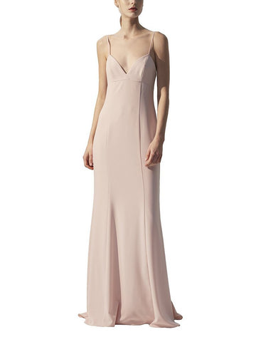 Amsale Blair Bridesmaid Dress in Blush - Front