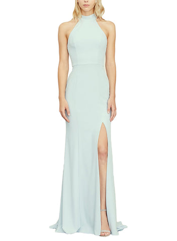 Amsale Cora Bridesmaid Dress in New Ice - Front