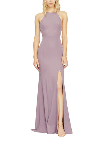 Amsale Dayton Bridesmaid Dress in Mauve - Front