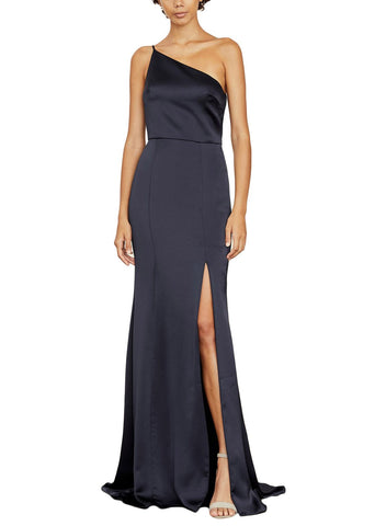 Amsale Kaia Bridesmaid Dress in Navy - Front