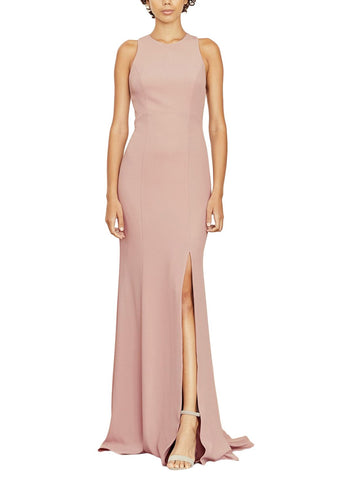 Amsale Mila Bridesmaid Dress in Thistle - Front