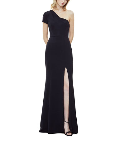 Amsale Nadia Bridesmaid Dress in Black - Front