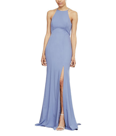 Amsale Ryland Bridesmaid Dress in Dove - Front