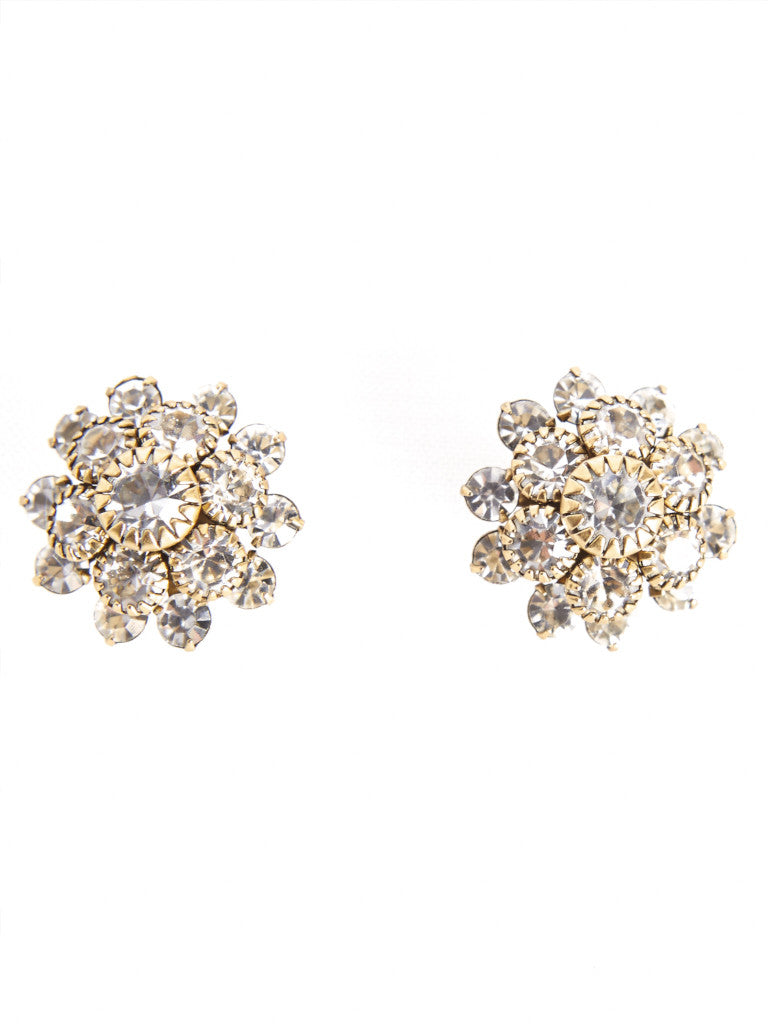 Aster Crystal Earring