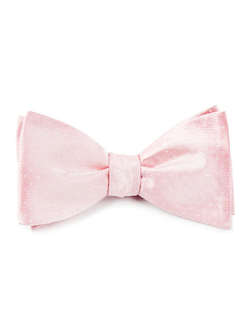 The Tie Bar Blush Pink Mini Dots Bow Tie