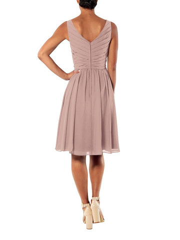Brideside Blair Cocktail Bridesmaid Dress