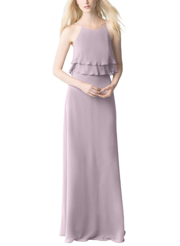 Jenny Yoo Charlie Bridesmaid Dress in Sweet-Pea - Front