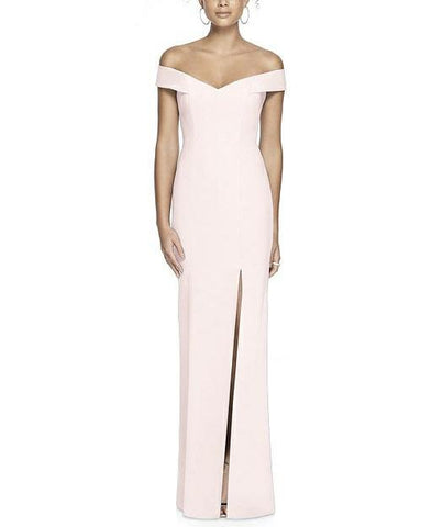 Dessy Collection Style 3012 in Blush