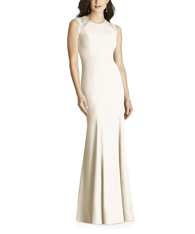 Dessy Collection Style 3015 in Ivory - Front