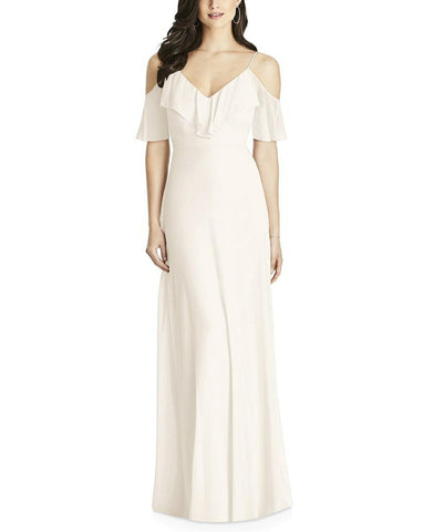 Dessy Collection Style 3020 in Ivory - Front