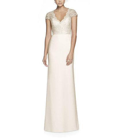 Dessy Collection Style 3023 in Ivory - Front