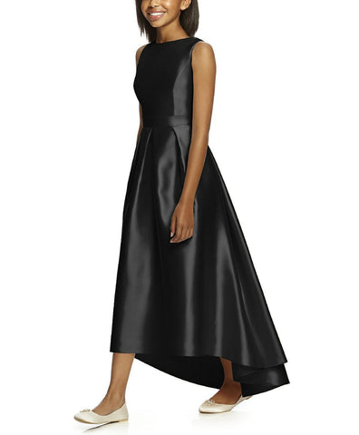 Dessy Collection Junior Bridesmaid Style JR534 in Black - Front