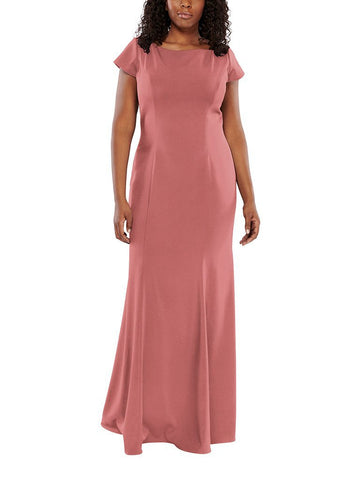 Aura Elara Bridesmaid Dress in Morganite - Front