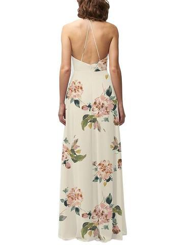Jenny Yoo Farrah Print Bridesmaid Dress