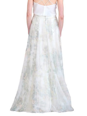 Jenny Yoo Hampton Print Skirt - Sample Bridesmaid Dress