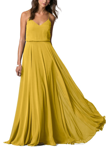 Jenny Yoo Inesse Bridesmaid Dress in Chartreuse- Front