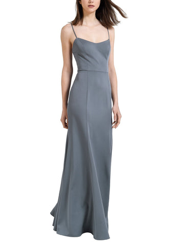 Jenny Yoo Aniston Bridesmaid Dress in Hydrangea- Front