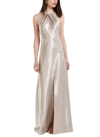 Jenny Yoo Cameron Bridesmaid Dress in Latte- Front
